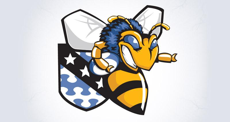 FOG Rugby B-Squad Logo & Mascot - Satellite Six