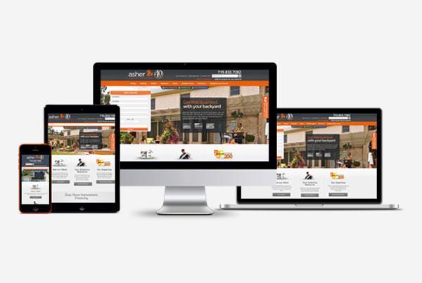 Asher Lasting Exteriors Website