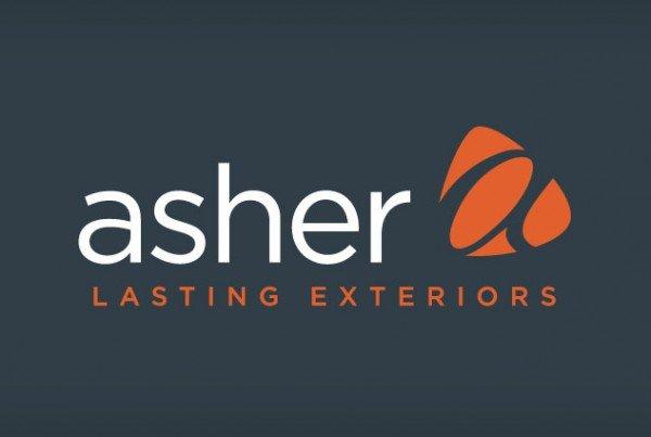 Asher Lasting Exteriors, Rebranding, Graphic Design, Logo Design Eau Claire, WI - Satellite Six