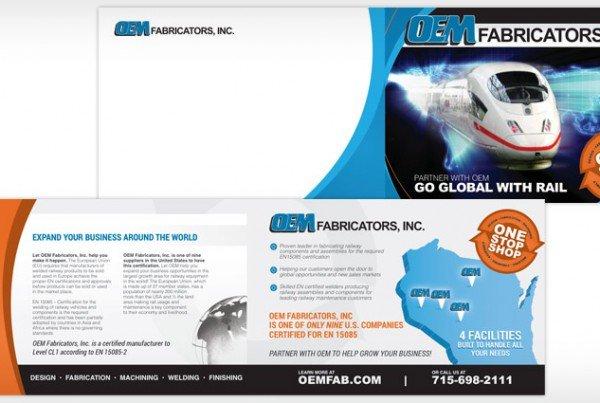 OEM Fabricators Rebranding, Print Design, Graphic Design Eau Claire, WI - Satellite Six