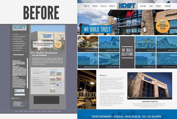 Hoeft Builders Inc Website Redesign