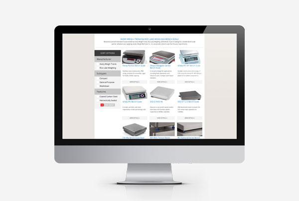Weigh-Rite Scale Co. Custom Web App