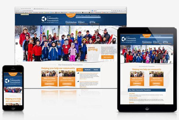 Eau Claire Community Foundation Website