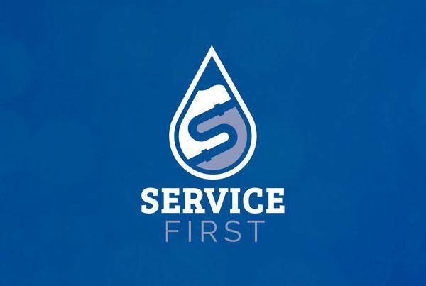 Service First Logo Design