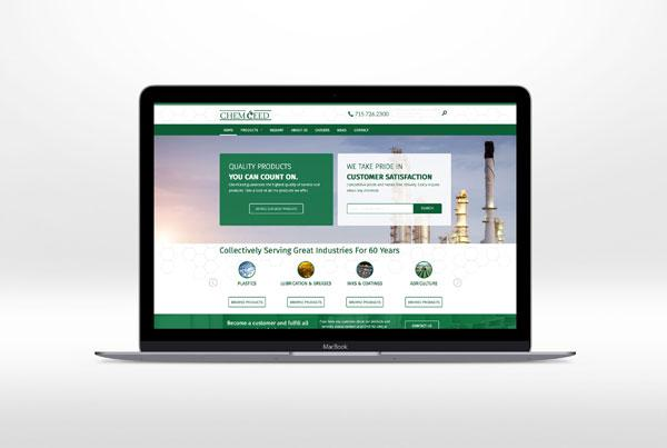ChemCeed Website Design