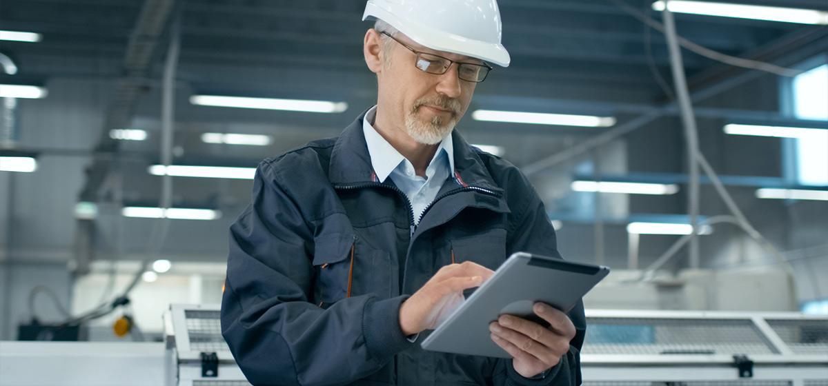 industrial company managing a website blog