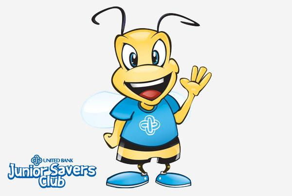 United Bank Junior Savers Mascot
