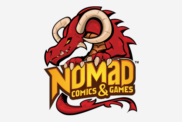 Nomad Comics & Games Logo
