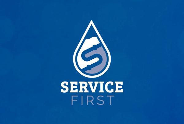 Service First Logo Design