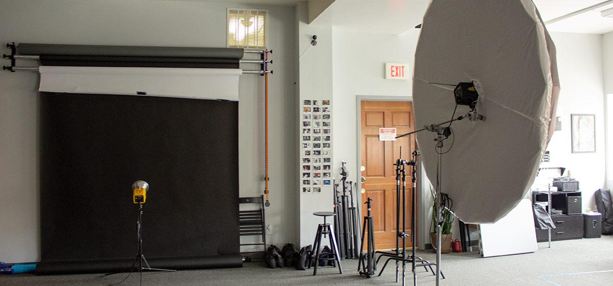 video studio for industrial marketing